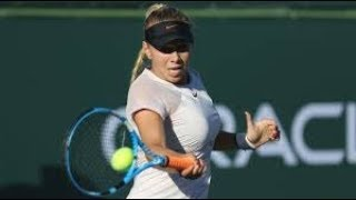16 YEAR OLD / WTA TENNIS STAR /Makes a Winners/ Miami