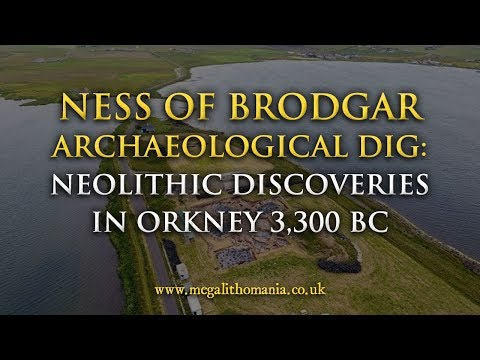 Ness of Brodgar 2017 Archaeological Dig: Neolithic Discoveries in Orkney 3,300 BC