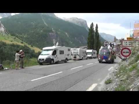 Tour de France 2014 - Stage 14 Passage La Grave