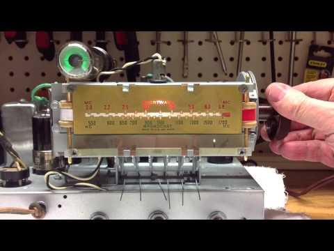 Wards Airline Radio - Model 62-361 - Dial Pointer Repair
