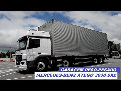 Garagem Peso-Pesado: Mercedes-Benz Atego 3030 8x2