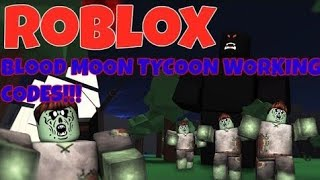 ALL CODES NEW CODES IN BLOOD MOON TYCOON