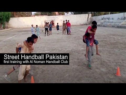 Street Handball Pakistan first training with Al Noman Handball Club