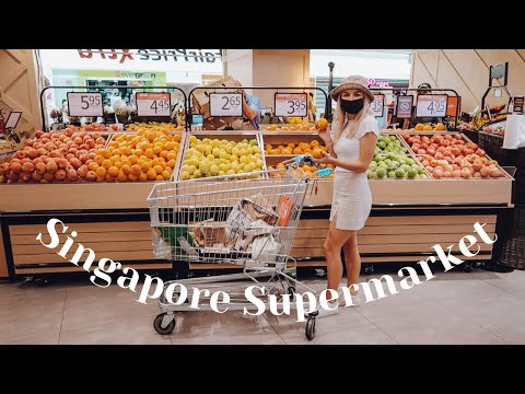 Come Grocery Shopping With Me In Singapore! Expat In Singapore