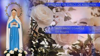 Rosaire du mardi 24 août