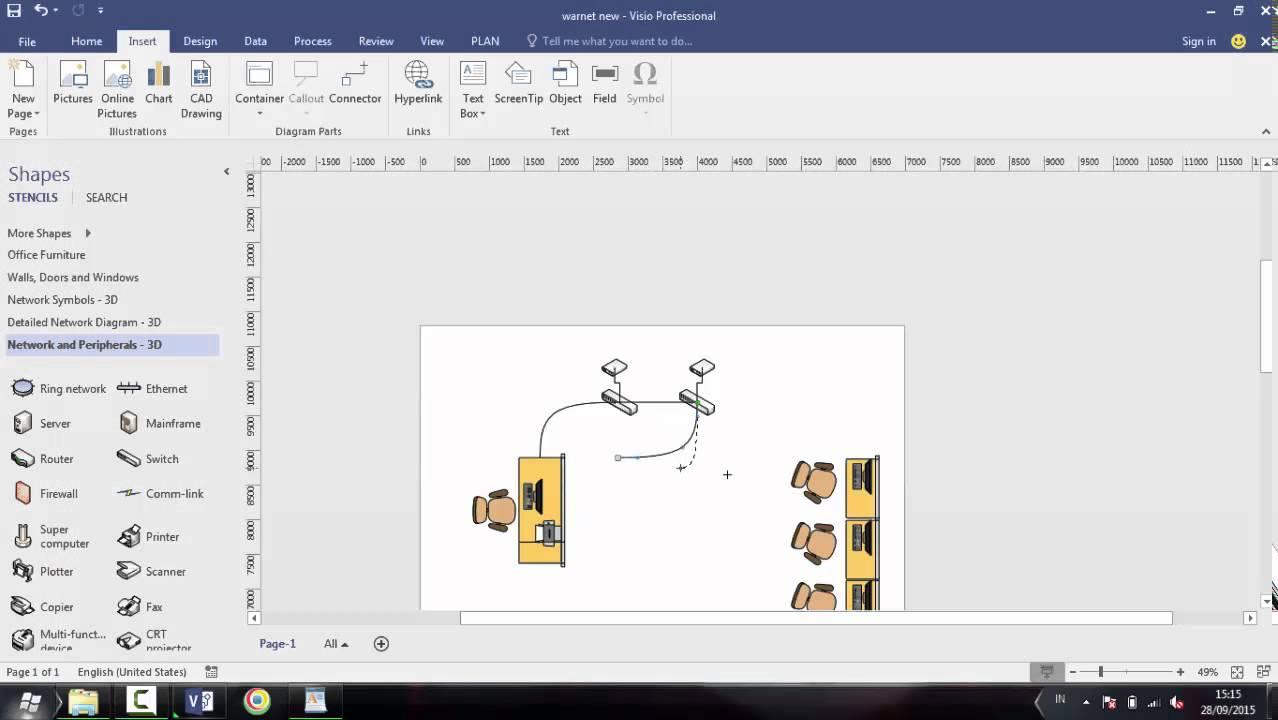 Cara Menggunakan Microsoft Visio Youtube