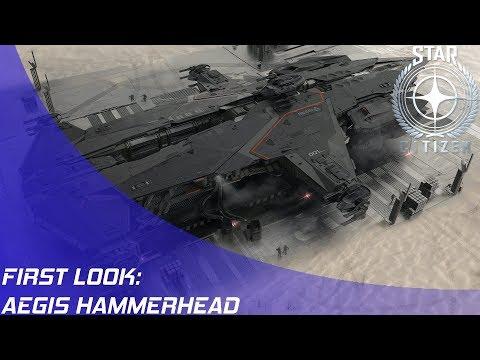 Star Citizen: Aegis Hammerhead First Look!
