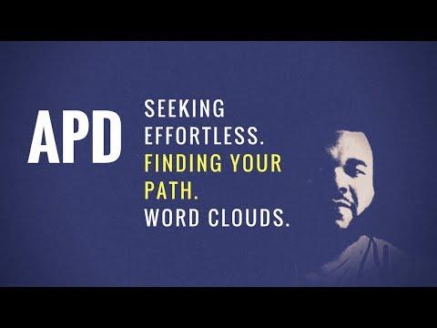 Discussion | Seeking Effortless, Word Clouds, Acknowledging Weakness