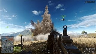 Battlefield 4 Explosions and Vibrations