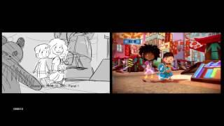Zack & Quack Animatic 2 | Lior Lev