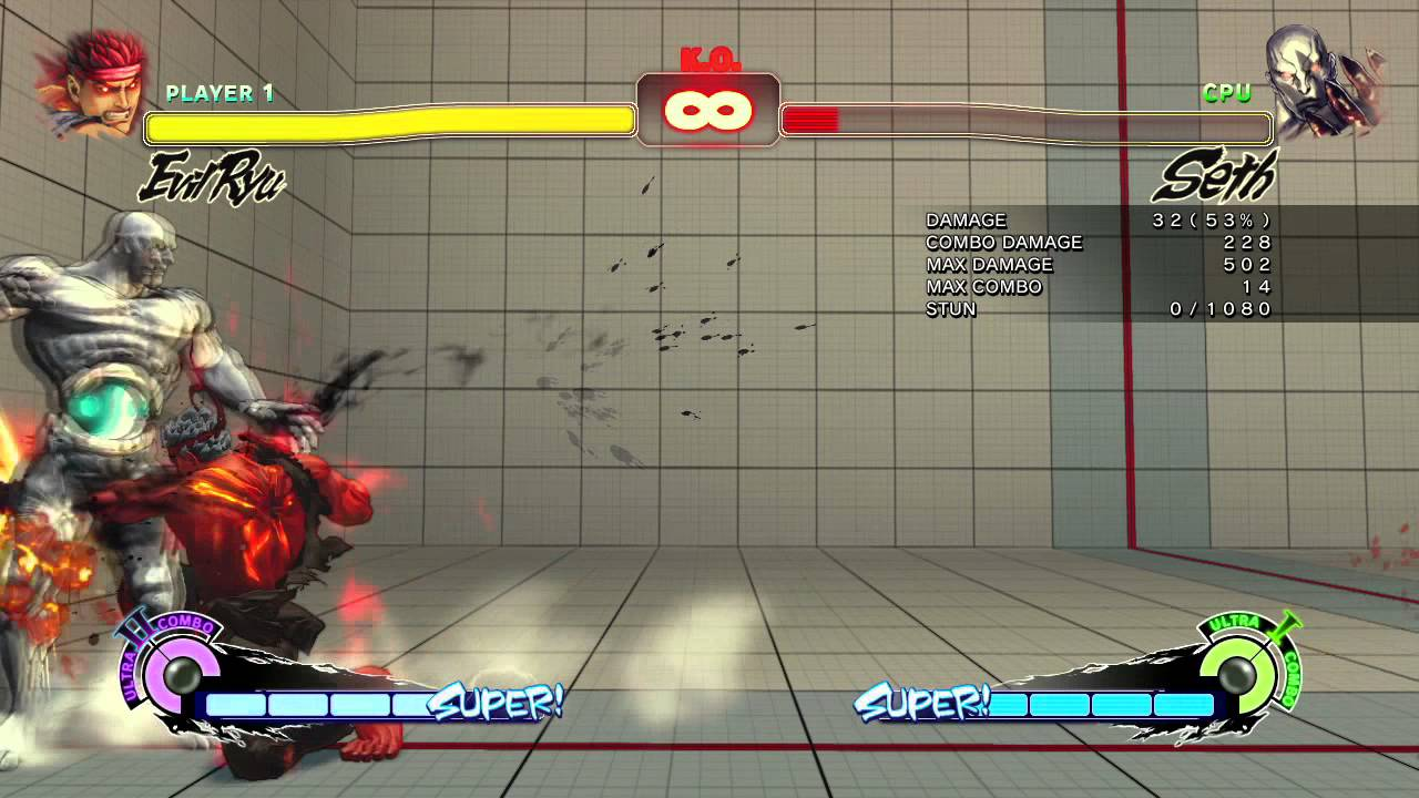 Evil Ryu // Touch of Seth Combo // Rufus Corner to Corner Loop
