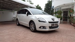 2013 Peugeot 5008 Start-Up, Full Vehicle Tour and Test Drive