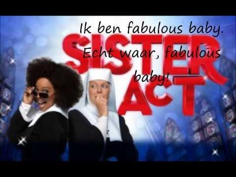 Sister Act - 2) Fabulous Baby! (Lyrics)