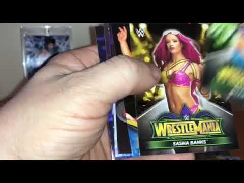 Download 2018 Topps Road To Wrestlemania Hobby Box - 2 Sweet Autos