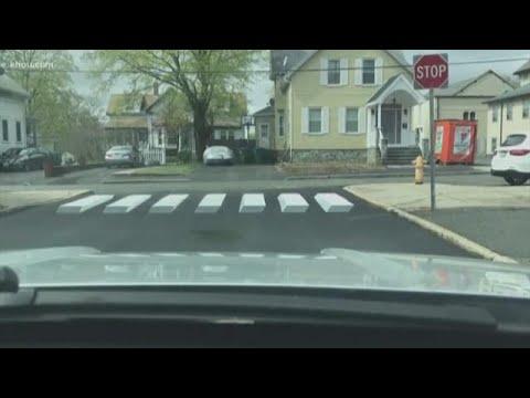 Kelsey's Playground - 3D Crosswalks in New England