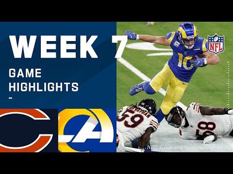Bears vs. Rams Week 7 Highlights | NFL 2020