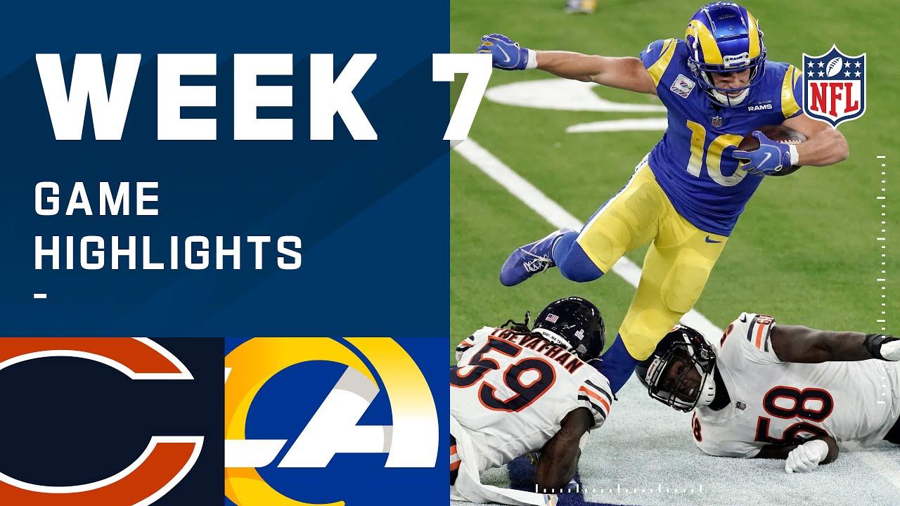 Download Bears vs. Rams Week 7 Highlights | NFL 2020