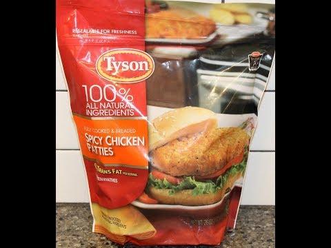 Tyson Spicy Chicken Patties Review