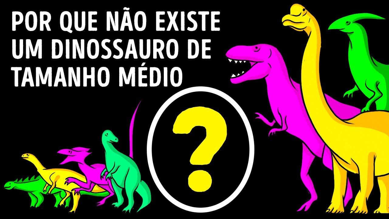 É Por Isso que os Dinossauros Eram Gigantes ou Minúsculos