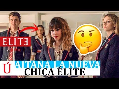"""Aitana """"la nueva chica Élite"""" que arrasa en redes sociales junto a Ester Expósito"""