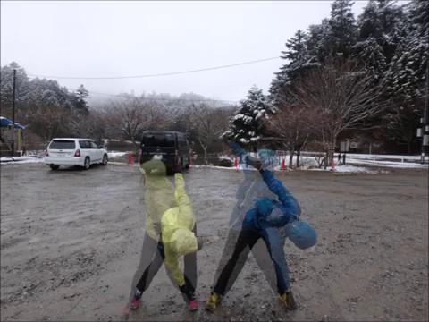 20170401 『段戸湖から寧比曽岳 春なのに冬』