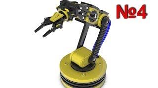 Cinema 4D: Робот Манипулятор: Урок №4 [HD]