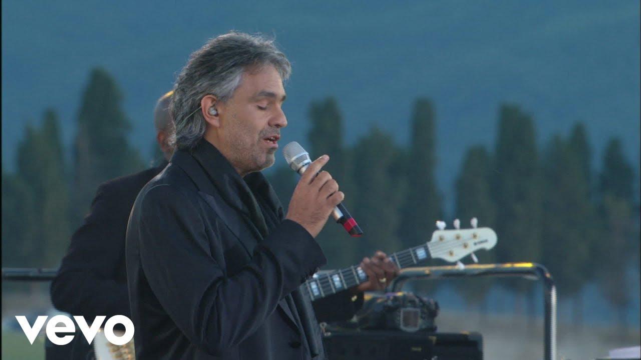 Andrea Bocelli Melodramma Live From Teatro Del Silenzio Italy 2007 Youtube