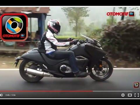 Honda NM4 Vultus, Test Ride in Indonesia, Bergaya ala pasukan Star Wars
