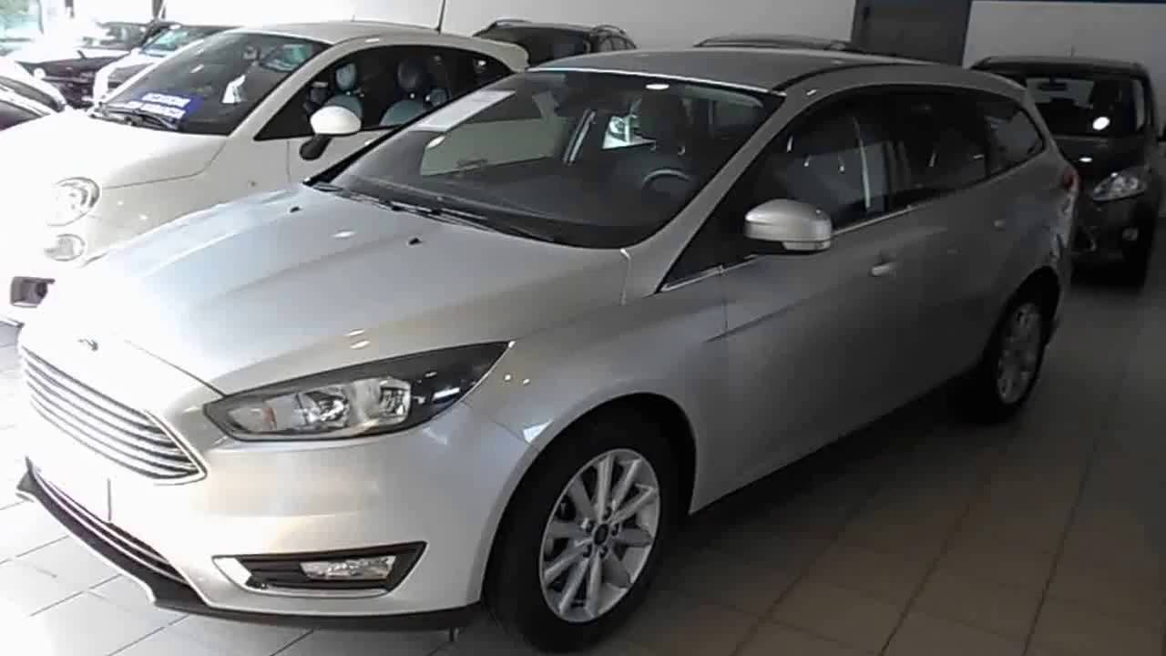 ford focus 1 5 tdci 120cv sw titanium my15 youtube. Black Bedroom Furniture Sets. Home Design Ideas