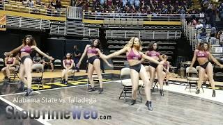 Talladega College vs Alabama State Marching Band - 2018 ASU Jamboree