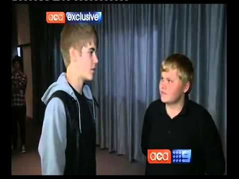 CASEY HEYNES AND JUSTIN BIEBER (video about bullying)