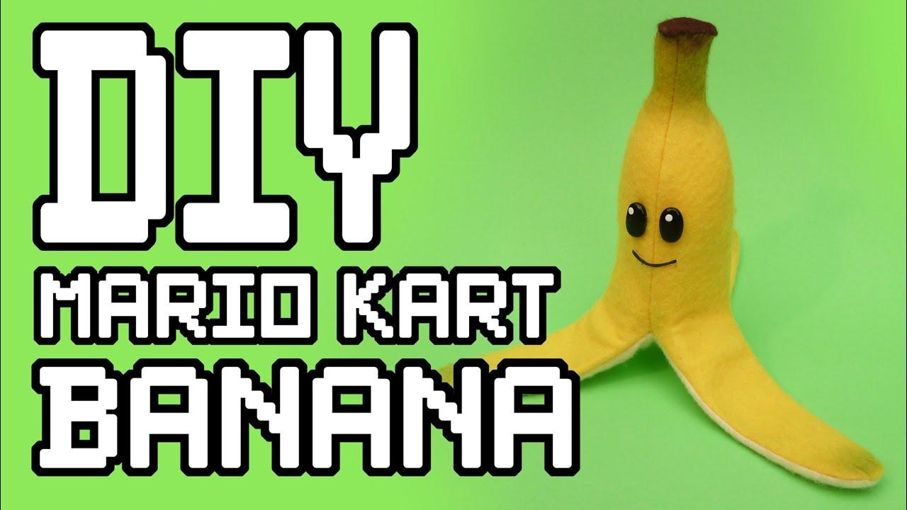 Mario kart banana plush diy youtube mario kart banana plush diy solutioingenieria Choice Image