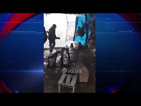Տեսանյութ. Սյունիքի մարզի դիրքերից.Սա է իրավիճակը՝ զինվորները քնում են կացարանում անձրեւի տակ, որը կառուցված է լաթի կտորներից