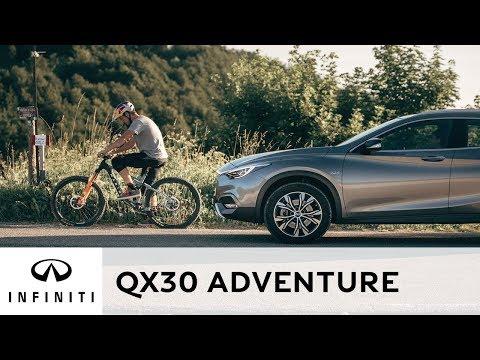 INFINITI QX30 - UNE CONDUITE AU GOÛT D'AVENTURE