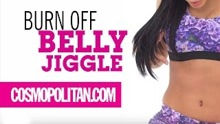 Repeat youtube video 5 Exercises to Burn Belly Fat | Cosmopolitan