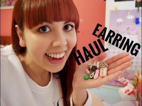 I GOT SENT SO MANY FOODIE EARRINGS! | SATURDAY LOLLIPOP & SHINY CREATIONS HAUL