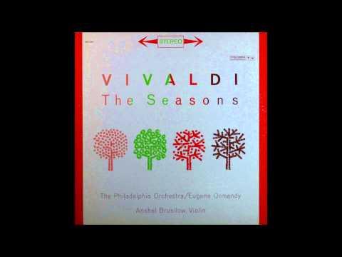 vivaldi, four season, winter, Violin -- Anshel Brusilow