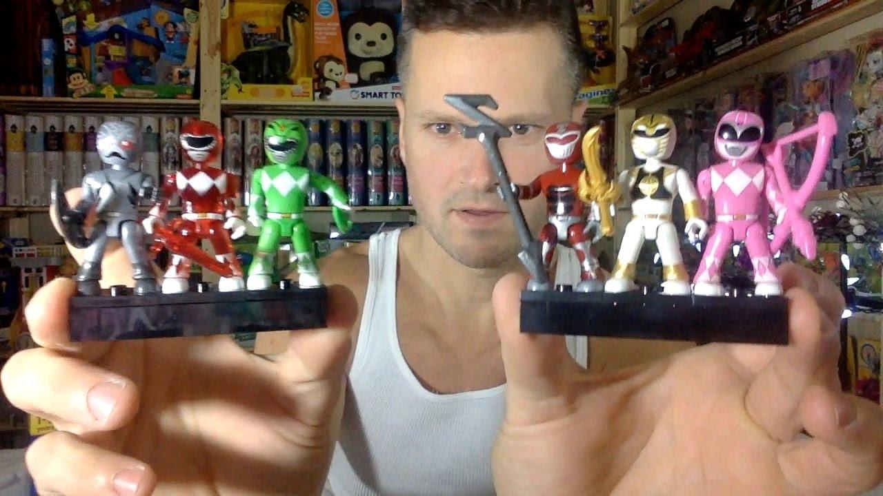 Mega Construx Saban/'s Power Rangers Mini Figure Lot of 3 Blind Bags Series 1