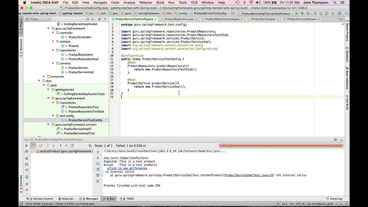 Testing Spring with JUnit - YouTube