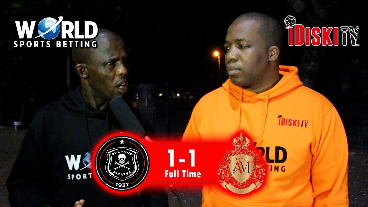 Download Orlando Pirates 1-1 Royal AM   Olisa Ndah is a Superstar Defender   Junior Khanye