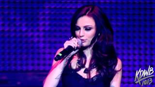 cher lloyd performs swagger jagger at kdwbs jingle ball