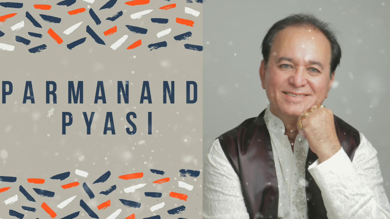 Anchor Mohit shewani wishing Parmanand pyasi