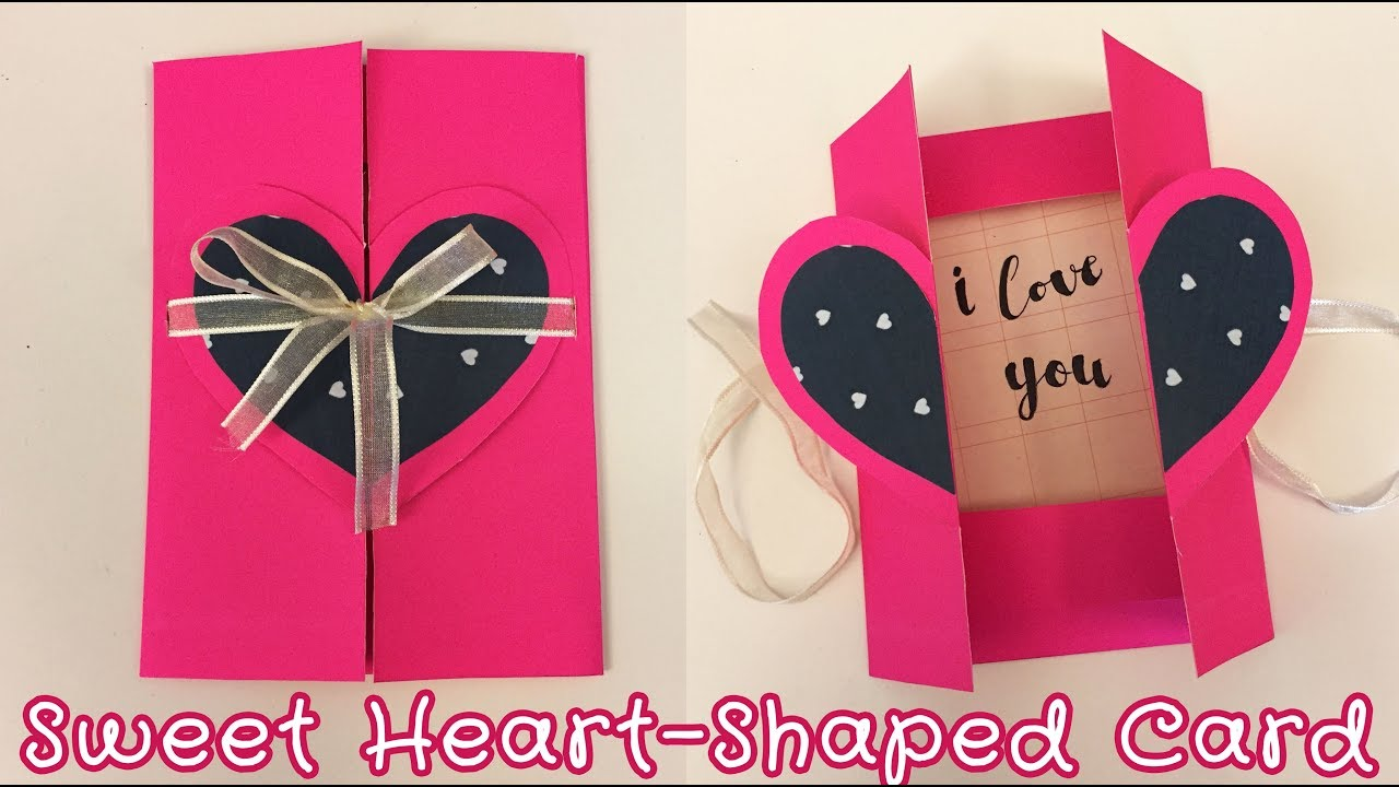 Easy Pop Up Card For Boyfriend Girlfriend