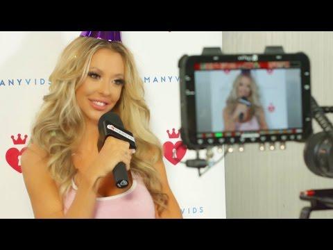 MV Girl Courtney Taylor gets wild on NYE!