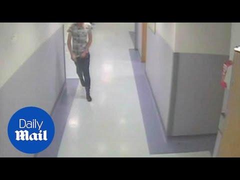 Man flees hospital in his socks despite being under arrest - Daily Mail
