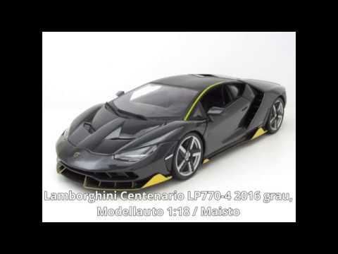 Modellautocenter Lamborghini Centenario Lp770 4 2016 Grau