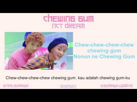 NCT DREAM - CHEWING GUM [MV, EASY LYRIC, LIRIK INDONESIA]