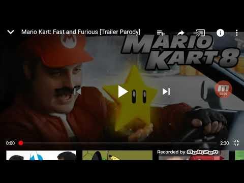 Vídeo reacción a Mario kart 8 la película