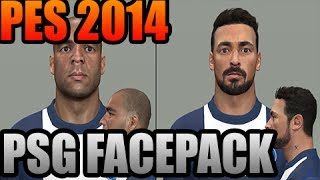 PES2014 PSG Facepack Lavezzi Motta Alex DOWNLOAD + How To install Thumbnail