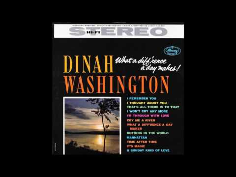 Dinah Washington - What a Diff'ernce a Day Mark! GMB